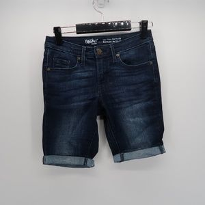 Mossimo Supply Co. Mid Rise Bermuda Jean Shorts